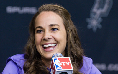 BECKY HAMMON FIRST WOMAN NBA COACH
