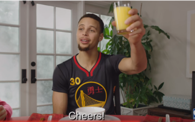 Steph Curry & Global Diversity Marketing wish you a Happy Lunar New Year